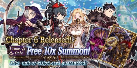 Chapter 6 Release Celebration Campaign