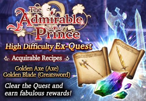 The Admirable Prince Event EX Quest(Global)